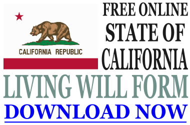 California Living Will Form - What is a Living Will?