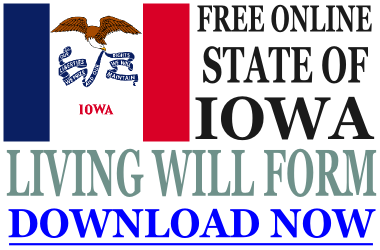 Iowa Living Will Form
