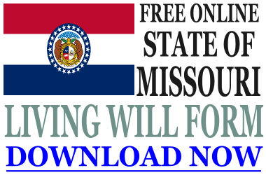 Missouri Living Will Form