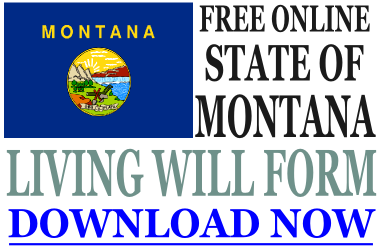 Montana Living Will Form