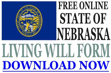 Nebraska Living Will Form