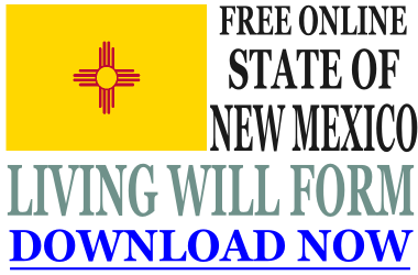 New Mexico Living Will Form