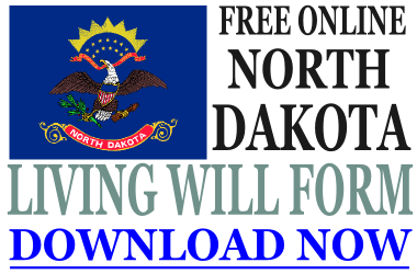 North Dakota Living Will Form