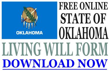 Oklahoma Living Will Form
