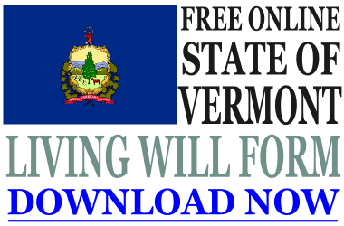 Vermont Living Will Form