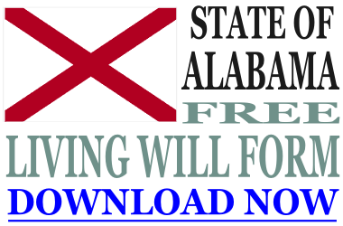 Alabama Living Will Form What Is A Living Will - Living will template free