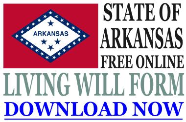 Arkansas Living Will Form