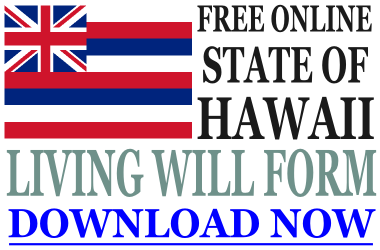 Hawaii Living Will Form