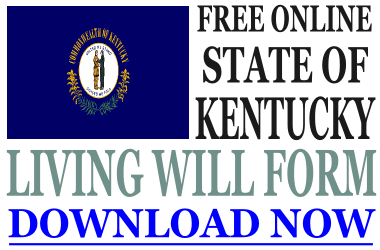 Kentucky Living Will Form