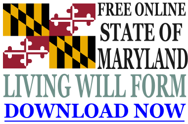 Maryland Living Will Form