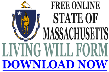 Massachusetts Living Will Form
