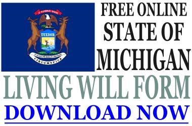Michigan Living Will Form