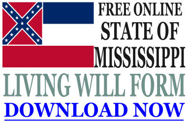 Mississippi Living Will Form