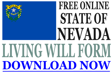 Nevada Living Will Form