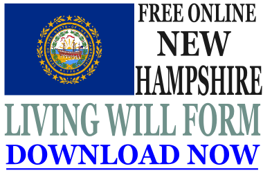 New Hampshire Living Will Form