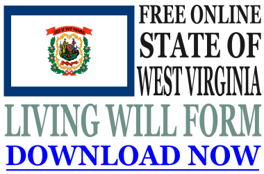 West Virginia Living Will Form
